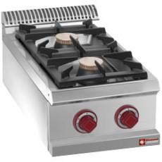Cuisinière gaz 2 feux vifs