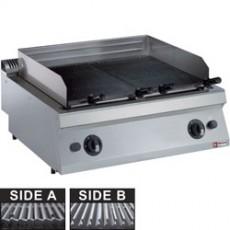"Grill pierre de lave gaz ""medium 1700"" - grille en fonte"