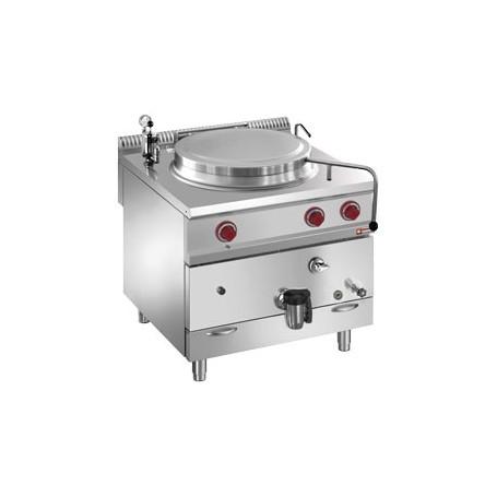 Marmite 100 litres sur meuble gaz - chauffage indirect
