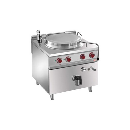 Marmite 100 litres sur meuble électrique - chauffage indirect