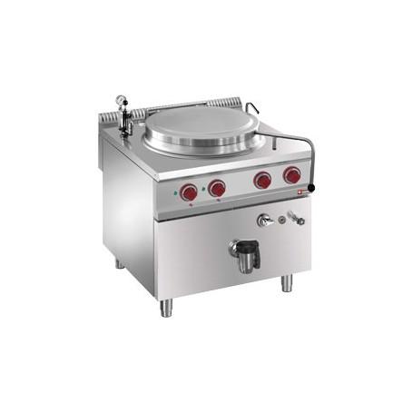 Marmite 150 litres sur meuble électrique - chauffage indirect