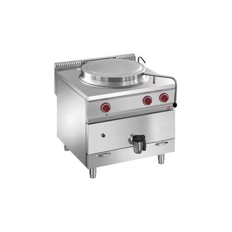Marmite 150 litres sur meuble gaz - chauffage direct
