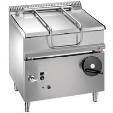 Sauteuse gaz - cuve inox basculante - 60 litres