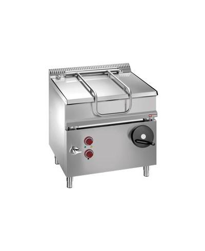 Sauteuse électrique - cuve inox basculante - 60 litres