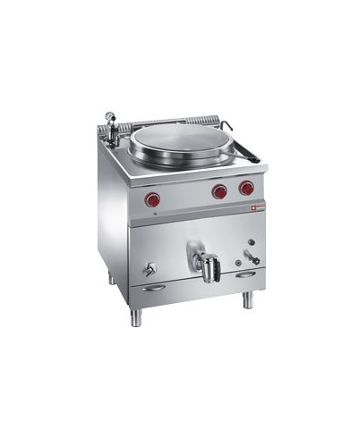 Marmite 50 litres sur meuble gaz - chauffage indirect