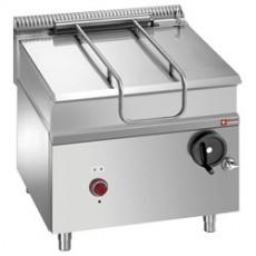 Sauteuse électrique - cuve inox basculante - 80 litres