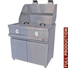Friteuse gaz 13 litres