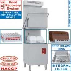 Lave-vaisselle capot 50x50 + condenseur-récupérateur de buées