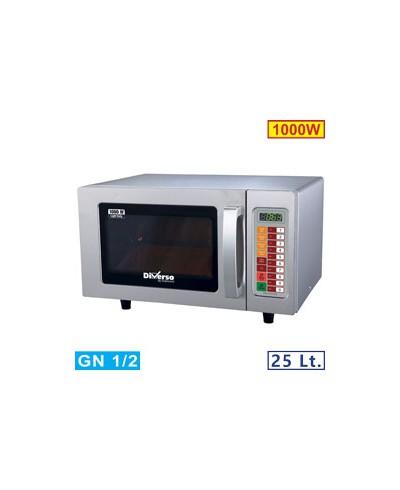 Four micro-ondes 25L inox 1000W - digital