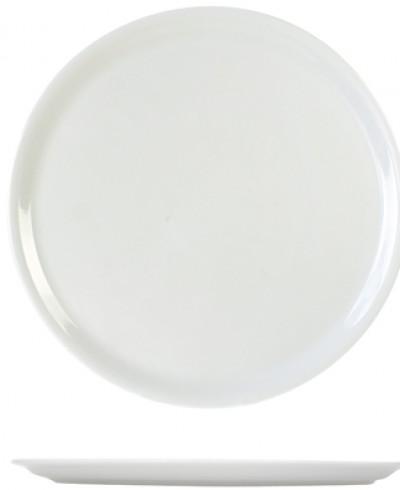 Assiette à pizza 30cm blanche - 6