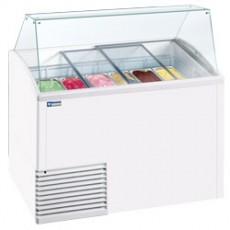 Comptoir présentoir pour crème glacée 10 bacs