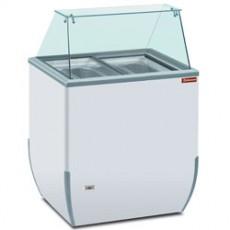 Comptoir présentoir pour crème glacée 170 litres