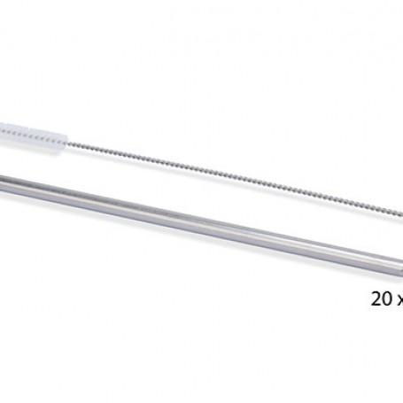 Paille inox 21,4cm - 10