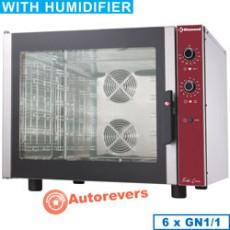Four électrique à convection 6xGN1/1 + humidificateur manuel