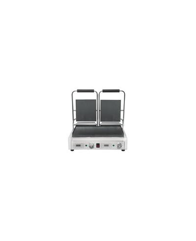 Grill de contact double - affichage numérique - 2x 21x22,6cm