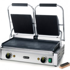 Grill de contact - modèle double 47,5x23