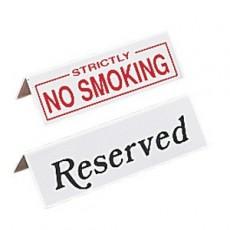 "Lot de 10 signalétiques de table ""Reserved"""
