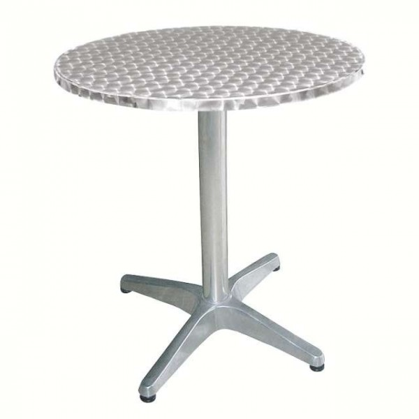 Table bistro ronde matoreca - Table ronde en aluminium ...