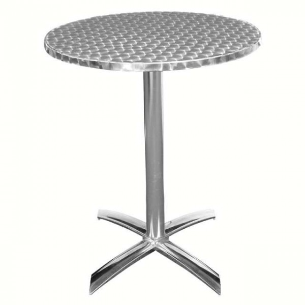 Table rabattable ronde 60cm matoreca for Table ronde rabattable
