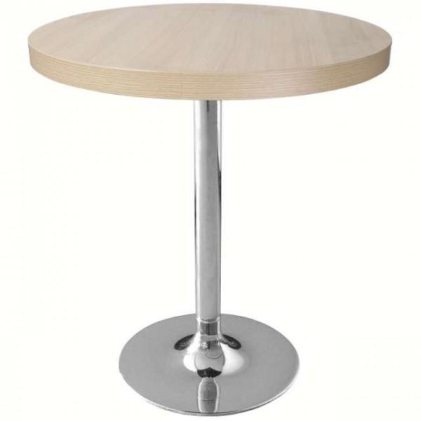 pied de table chrom bolero rond matoreca. Black Bedroom Furniture Sets. Home Design Ideas