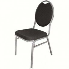 Set de 4 chaises empilables