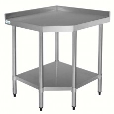 Table d'angle en inox