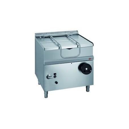 Sauteuse gaz basculante cuve inox 50l - Table basculante cuisine ...