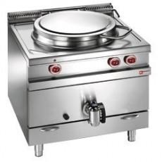Marmite 100 litres sur meuble gaz - chauffage direct