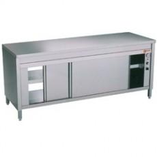 """Table armoire chauffante """"traversante centrale"""""""