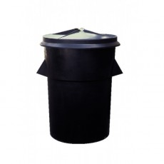 Couvercle pour poubelle résistante J649