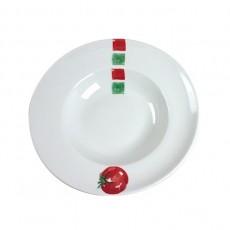 "Assiette à pâtes ""Pasta Tomato"" - 6"