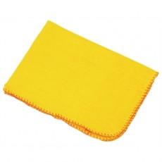 Chiffons à poussière jaunes