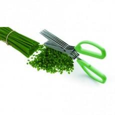 Ciseaux 5 lames inox à herbes