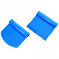 Coupe-pâte rond rigide bleu Exoglass