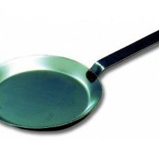 Poêle à crêpe en tôle d'acier noire Matfer