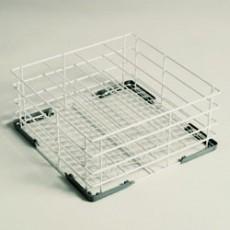 Panier à verres 3 rangées - 40x40cm - Fond incliné
