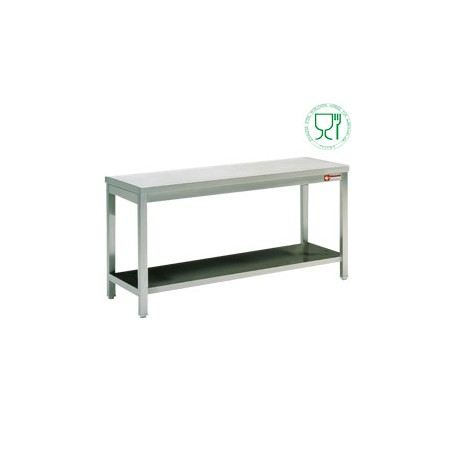 Table de travail inox aisi304 441 700 mm matoreca for Table travail inox