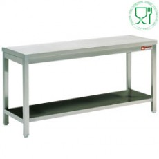 Table de travail inox AISI304/441 - 700 mm