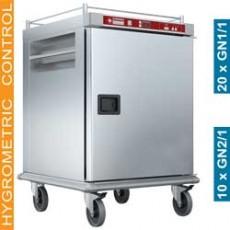 Chariot chauffant pour repas - 10x GN2/1 + humidification contrôlée