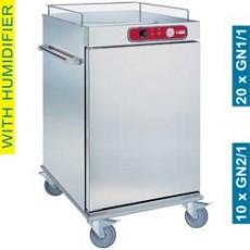 Chariot de maintien à température pour repas 10xGN2/1