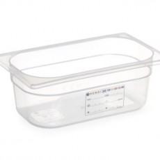 Boîte de stockage en polypropylène GN1/4 - 15cm