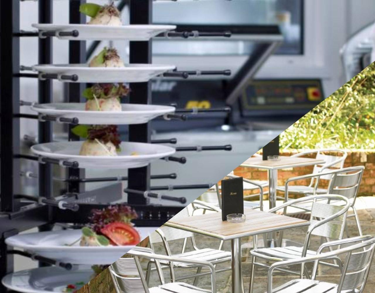 Meubles de cuisine en inox et tout le mat riel horeca for Materiel de cuisine professionnel pour les particuliers
